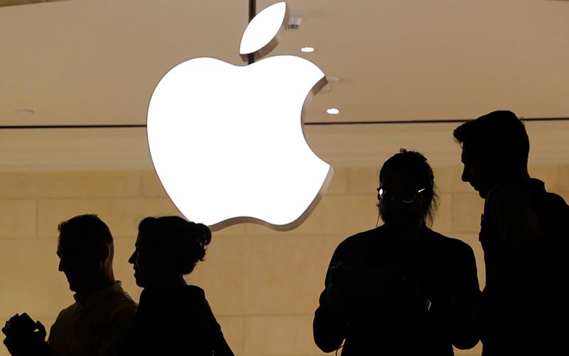 apple akcje