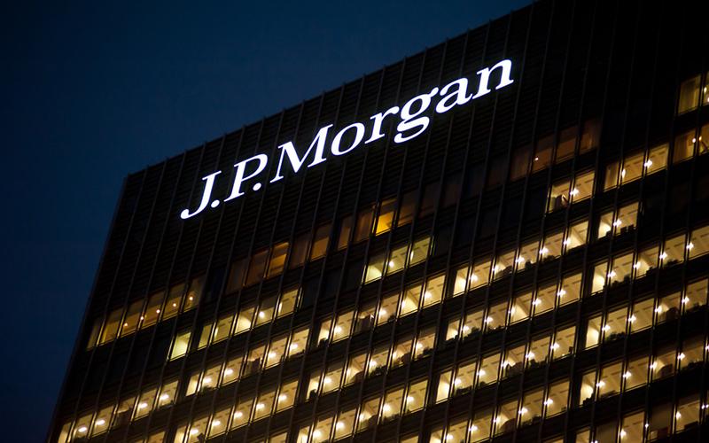JP Morgan kryptowaluty